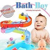 WISHTIME kombinieren Track Pathway Bad Spielzeug 2019 DIY freie Kombination von Track Badewanne Wasser Spielzeug für Baby