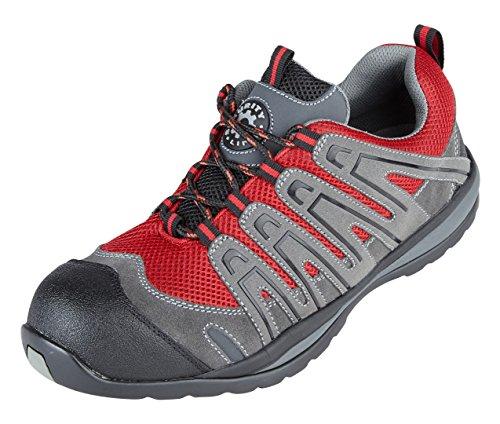Briggs Kleidung (Briggs 4206GR100Himalaya-Halcyon Composite Trainer Schuh, Größe 10, grau/rot)