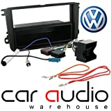 T1 Audio VW Pack - Complete Wiring and Black Facia Panel for Volkswagen - Fits the following vehicles - Golf V/Touran/Passat/Caddy