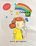 Naughty Little Giant Colouring Book