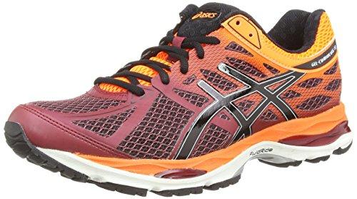 asics-gel-cumulus-17-mens-training-running-shoes-red-deep-ruby-onyx-hot-orange-2699-75-uk-42-eu