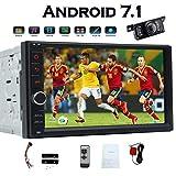 EINCAR Android 7.1 Octa-Core 7-Zoll-HD 1080P Touch-Screen-Auto-Stereodoppel 2Din Radio im Armaturenbrett Head Unit GPS Navigation Unterstützung WiFi/USB/SD/SWC/Bluetooth/Subwoofer mit F