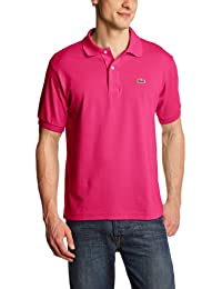 Lacoste L1212  - 00 - Polo Homme  Rose (CHARDON)-X-Small (Taille Fabricant: 3)