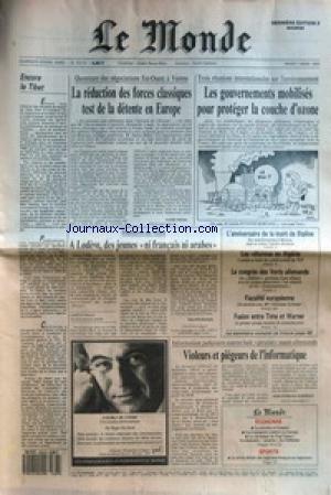 Le Jeune Staline - MONDE (LE) [No 13719] du 07/03/1989 -