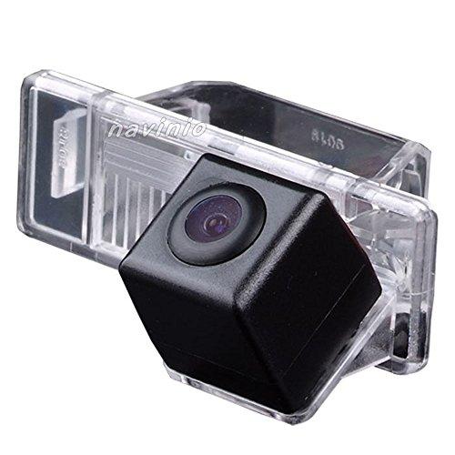 Dynavsal Auto Rückfahrkamera verbesserte Einparkhilfe mit 8IR Nachtsicht 170° Weitwinkel Wasserdicht Hoche Defination (schwarz) für 307 307CC QUATRE & TRIOMPHE C4 C5/ QASHQAI/X-TRAIL (Nr. 2 mit normaler Kamera)