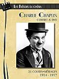Coffret charlie chaplin : 21 courts-metrages (1914-1917)