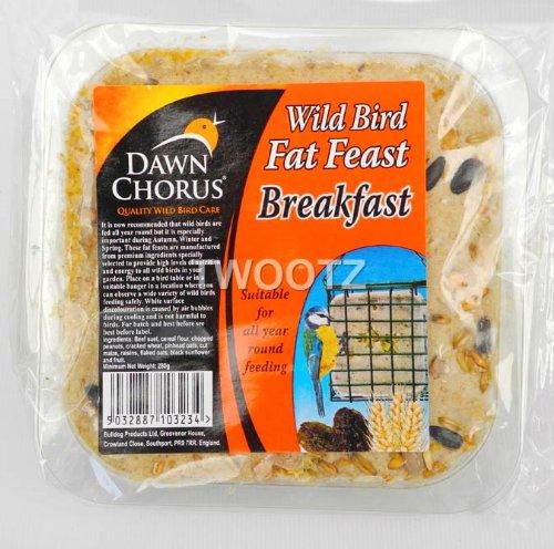 Dawn Chorus Breakfast Fat Feast For Wild Birds (12 pack)