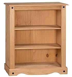 Mercers Furniture Corona Small Low Bookcase