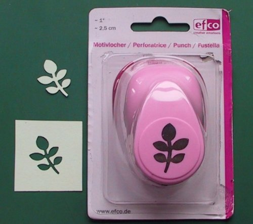 efco 2,5 cm Medium Leaf, pink