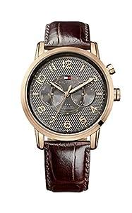 Tommy Hilfiger 1791084 - Reloj, con correa de acero inoxidable, de color gris de Tommy Hilfiger
