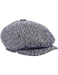 Filfeel Sombreros de Boina para Hombre Diseño Simple y Sencillo tamaño  Ajustable ... 3ed7a593c0f