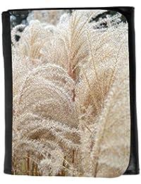 le portefeuille de grands luxe femmes avec beaucoup de compartiments // M00156447 Espadaña de hierba de trigo Naturaleza // Small Size Wallet