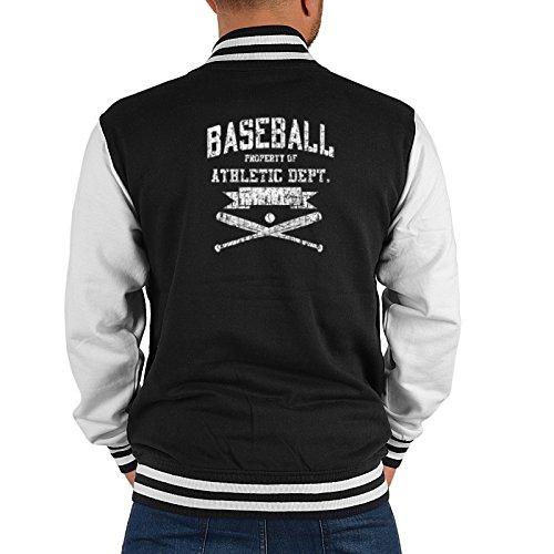 Mister Jacke ::: Baseball Athletic Dept. ::: mit USA Motiv auf der Rückseite Athletic Dept Sweatshirt