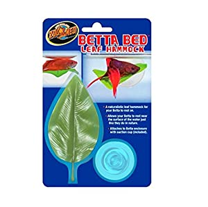 zoomed Floating Betta Bed Leaf Hammock from CROCI