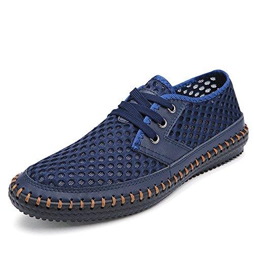 CUSTOME Hommes Chaussures D'Eau Engrener Appartement Nager Banc Combinaison Doux Respirant de Plein Air Poids Léger Décontractée Exercice Chaussures