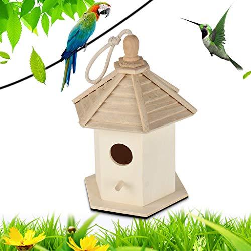 Artigianato,TwoCC Dox Nest Grande Nido House Bird House Bird House Uccello Nel Campo Uccello Nel Campo di Legno Nel Campo