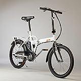 """imt Bicicletta Elettrica Pieghevole a Pedalata Assistita 20"""" 250W 4,4AH Bianca - Best Reviews Guide"""