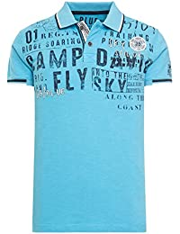 18e162d4b1bd Camp David Polo Shirt Sky Sailor Faded orange CCB-1804-3415