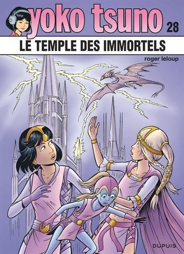 Yoko Tsuno - tome 28 - Le temple des immortels