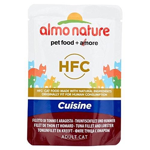 Almo Nature Classic Cuisine Filet de Thon et Homard pour Chat 55g -