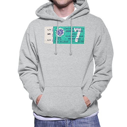 chicago-bears-vs-green-bay-packers-wrigley-field-1968-mens-hooded-sweatshirt
