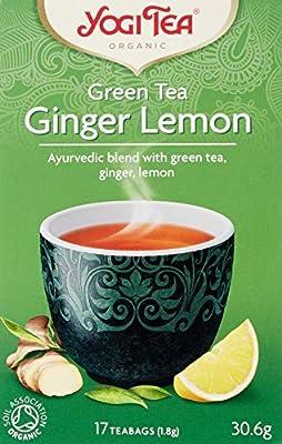 Yogi tea Thé Bio au Gingembre/Citron 30.6 g - Pack de 6