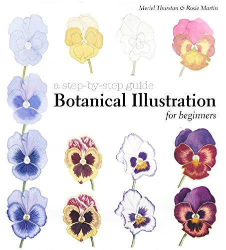 Botanical Illustration for Beginners: A Step-by-Step Guide por Meriel Thurstan