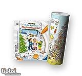tiptoi Ravensburger Kinderlieder Weihnachten 4-7 | Meine schönsten Weihnachtslieder + Musik Instrumente Wimmel-Poster