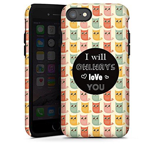 Apple iPhone X Silikon Hülle Case Schutzhülle Valentinstag Geschenk Geschenkidee Tough Case glänzend