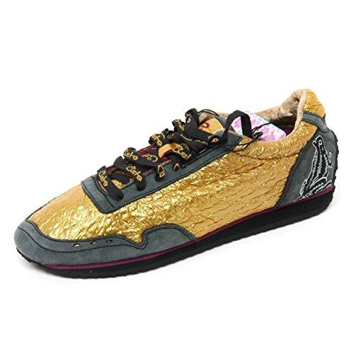 Custo B8964 Sneaker Donna Barcellona Belana Scarpa Oro/Fucsia Shoe Boot Woman [37] yWxr8
