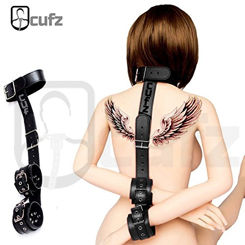 Halsband & Handfessel, Bringt BDSM Fantasie Spiel & Spannung für Ihren Liebespartner