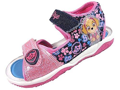 \'Paw Patrol\'\' ,  Mädchen Sportliche Sandalen, Blau - Denim/Pink - Größe: 23 EU Kinder
