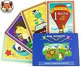 Baby Meilenstein Karten für Babys Erstes Lebensjahr - Milestone Cards DEUTSCH - Fotokarten - Geschenk zur Geburt, Taufe und Babyparty – Foto- und Erinnerungs-Karten – Geschenkset für Junge und Mädchen (unisex)