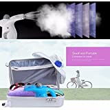 by Siddhi Collection 2017 Electric Garment Facial Steamer Brush for Ironing Clothes Portable Multifunction Pots Steam Face (Colour May Vary)