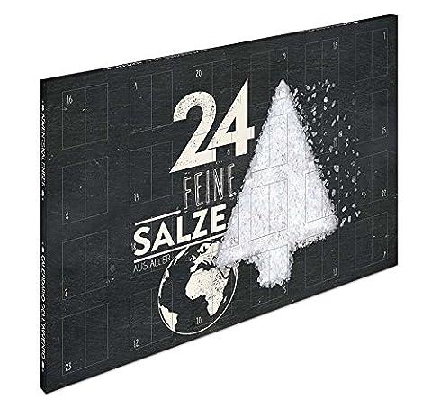 Salzkalender - Großer Adventskalender mit 24 Salzen aus aller Welt (Edition 2017) (Kochen Ideen Für Weihnachtsfeier)