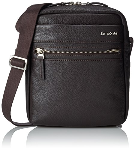"Samsonite Hip-Class LTH Crossover Bolso Bandolera, 7.9"", 4.1 Litros, Color Marrón"