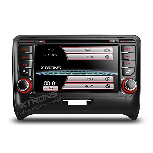 SOUND SYSTEM XTRONS AUDI TT MIRROR LINK BLUETOOTH GPS USB SD MP3 CANBUS