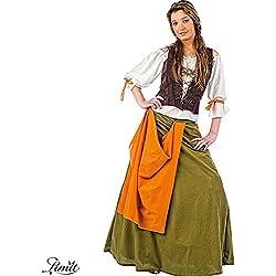 Limit Sport Disfraz de tabernera medieval Agnes, para adultos, talla M (MA061)