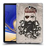Head Case Designs Officiel Vin Zzep Barbe Noire Vintage Étui Coque en Gel Molle pour Samsung Galaxy Tab S4 10.5 (2018)