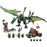 LEGO Ninjago 70593 The Green NRG Dragon Building Kit (567 Pieces)