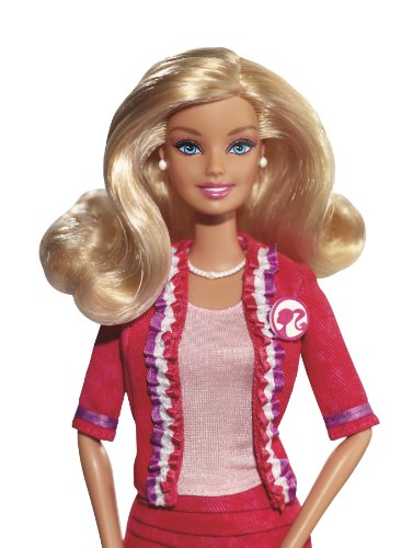 Barbie X2930 - Muñeca Barbie con traje de presidente