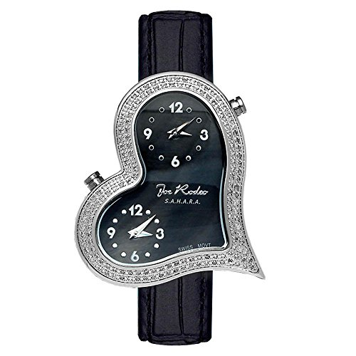 Joe Rodeo Diamond reloj de pulsera para mujer–Sahara plata 1,4ctw