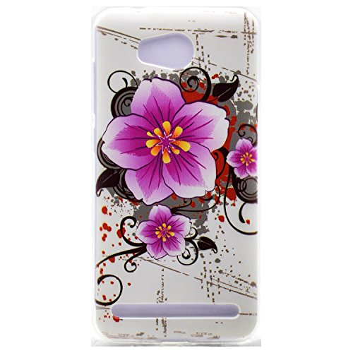 Voguecase® für Apple iPhone 7 Plus 5.5 hülle, Schutzhülle / Case / Cover / Hülle / TPU Gel Skin (Schwarz/mad here) + Gratis Universal Eingabestift Pfirsichblüte