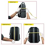 Abonnyc-Multi-function-DSLR-Camera-Backpack-Bag-CaseOxford-Waterproof-Anti-shock-Hiking-Bag-Laptop-Travel-Backpack-Gadget-Bag-With-Rain-Cover