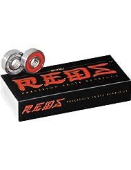 Bones Reds Precision - Rodamientos para monopatín (7 mm, 16 unidades)