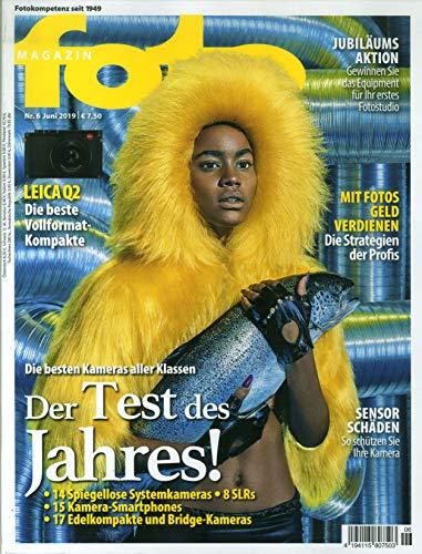 """Fotomagazin 6/2019 \""""Der Test des Jahres!\"""""""