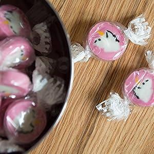 Unicorn Rocks Bonbons - Die Einhorn Bonbons - Auch als süße Tischdeko zu Party Hochzeit Kindergeburtstag (1) (200g)