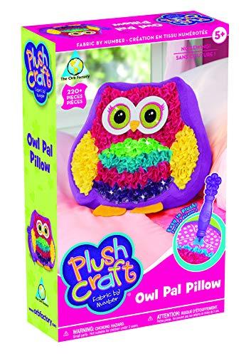 Orb Factory 621412 - Plüsch Craft Owl Pal Kissen