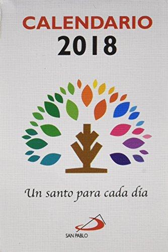 Calendario Un santo para cada día 2018 por Equipo San Pablo