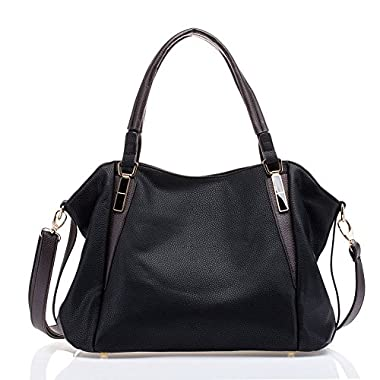 UTAKE Women Handbags Leather Handbags Shoulder Bag Lichi Grain PU Leather Tote Bag UT04